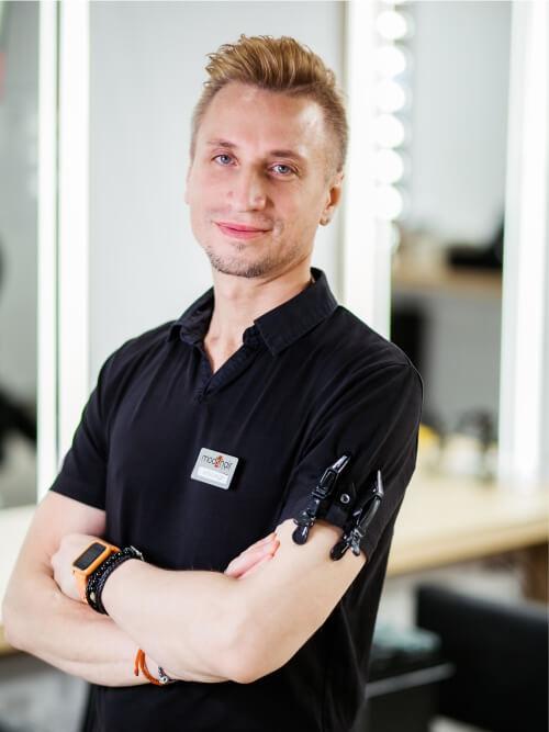 Александр Адамчук, топ-стилист