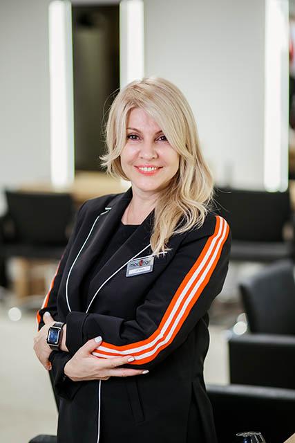 Ирина Илюнина, топ-стилист