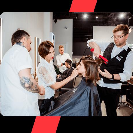 Обучение французским стрижкам в технике Mod's Hair 7, 8, 9 июня